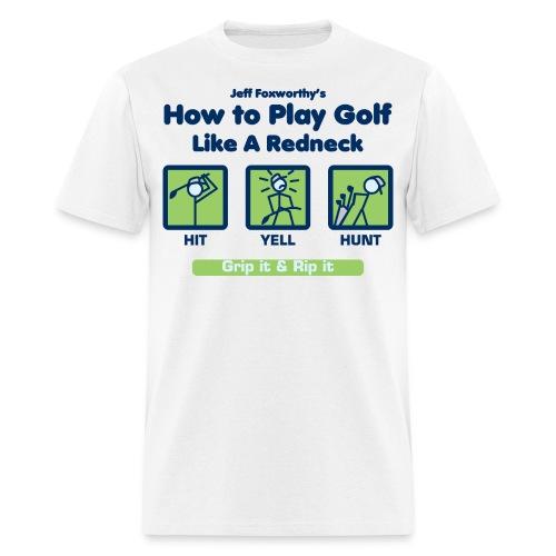 how to golfseps01 - Men's T-Shirt