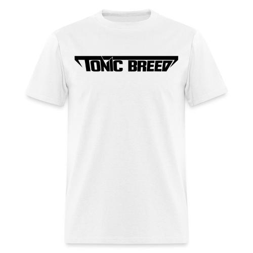 logoCleanBlack png - Men's T-Shirt