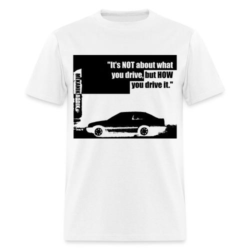 Addik Silouhette black 2 - Men's T-Shirt