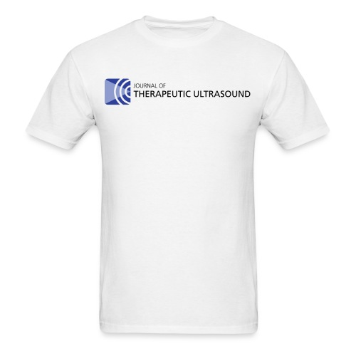 Journal of Therapeutic Ultrasound Logo png - Men's T-Shirt