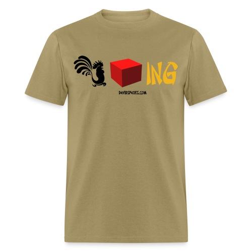 blocking chinese color - Men's T-Shirt