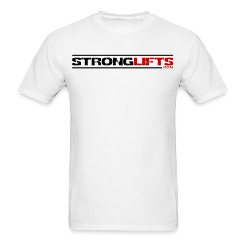 strongliftswhite - Men's T-Shirt