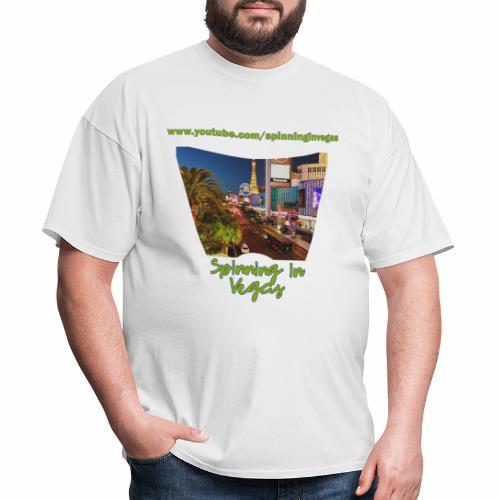 Spinning in Vegas Clothing Line - Men's T-Shirt