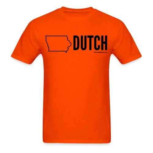 Iowa Dutch (black) - Men's T-Shirt