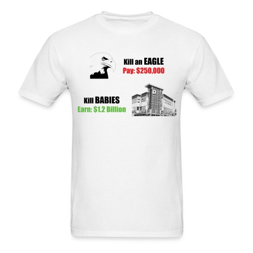 Bald Eagle 4 png - Men's T-Shirt