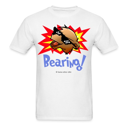 Bearing Thug Life Shades - Men's T-Shirt