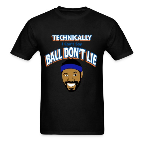 Technically Ball Dont lie Ball png - Men's T-Shirt