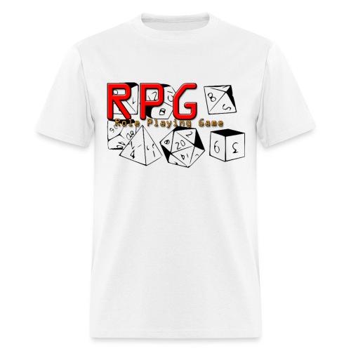 Dice shirt resized png - Men's T-Shirt
