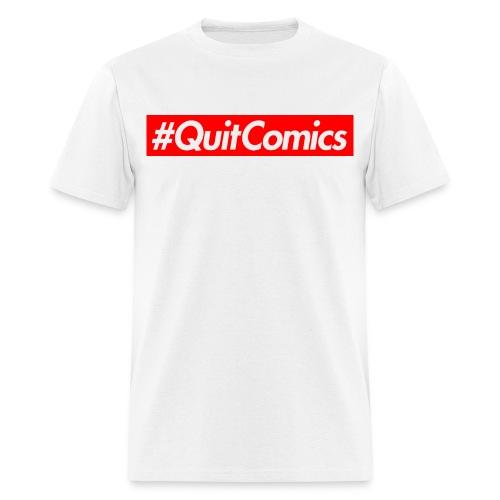 quit comics cropped jpg - Men's T-Shirt