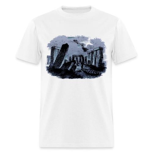 stone monument - Men's T-Shirt