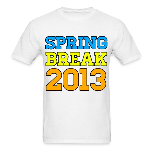 Spring Break 2013 T Shirts - Men's T-Shirt