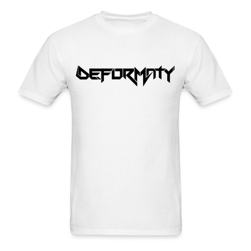 Deformaty Logo Black - Men's T-Shirt
