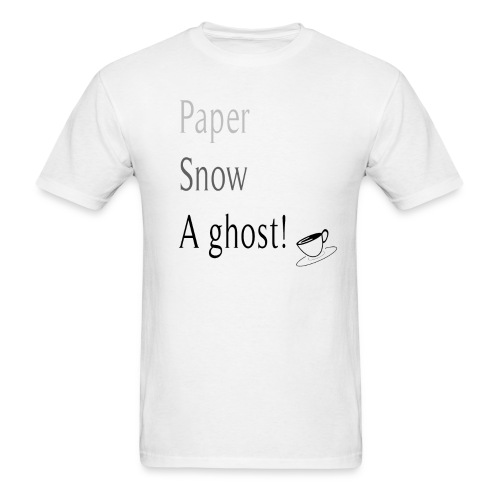 Paper Snow Ghost - Men's T-Shirt
