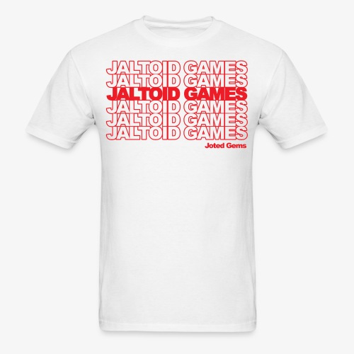 Jaltoid Games Novelty Red - Men's T-Shirt
