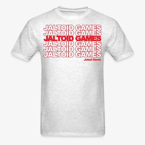 Jaltoid Games Novelty Red - Men's T-Shirt