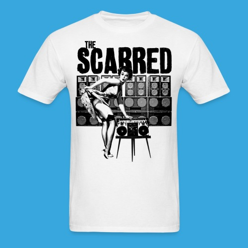The Scarred Pinup - Men's T-Shirt