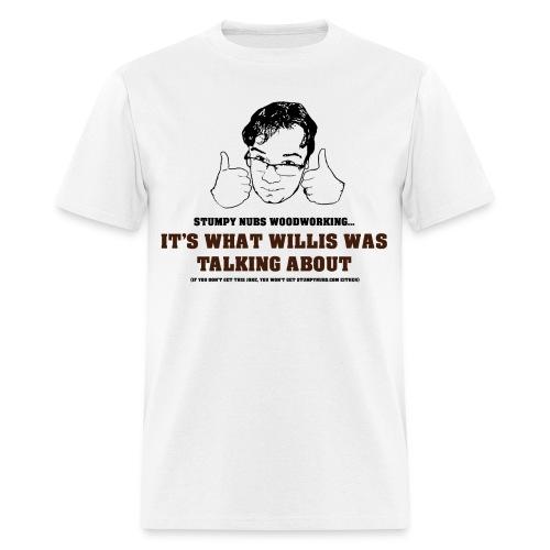 willis png - Men's T-Shirt