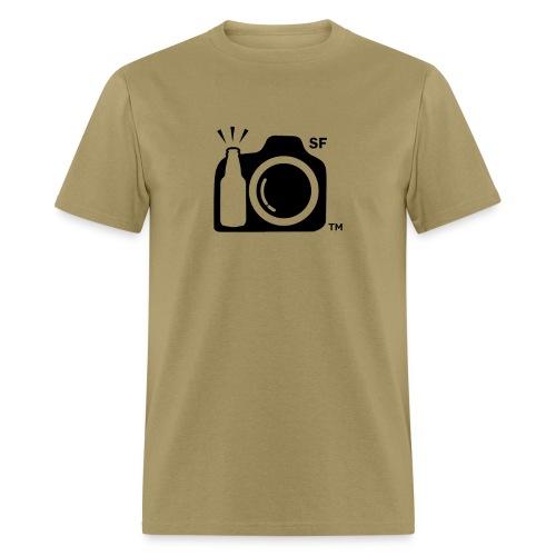 San Francisco Transparent With Initials png - Men's T-Shirt