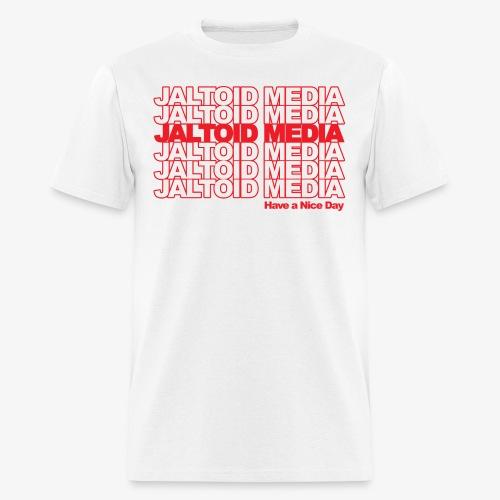 Jaltoid Media Novelty Red - Men's T-Shirt