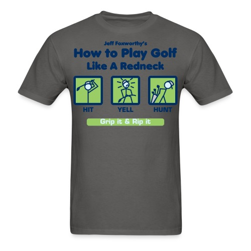 how to golfseps01 - Men's T-Shirt