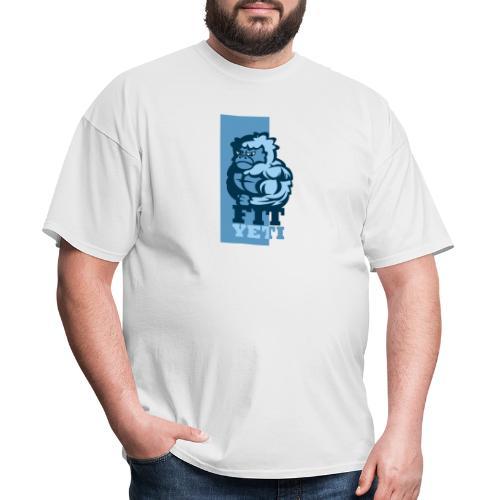 Fit Yeti - Men's T-Shirt