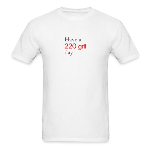 220 grit png - Men's T-Shirt