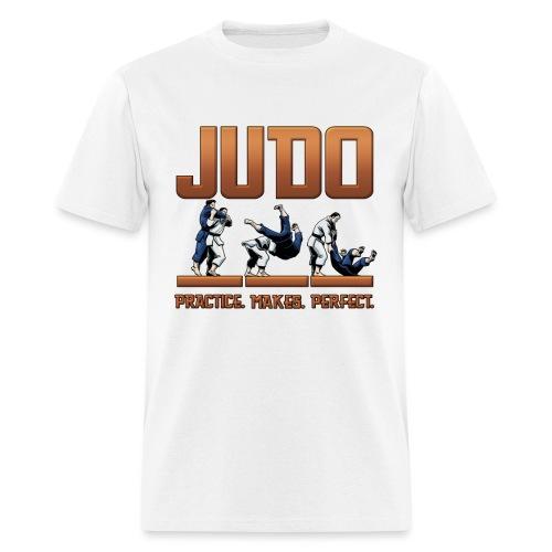 Judo Practice Makes Perfect Design - Men's T-Shirt