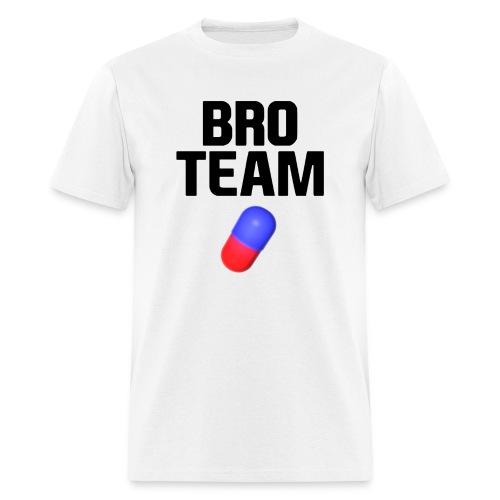 Bro Team Black Words Logo Women's T-Shirts - Men's T-Shirt