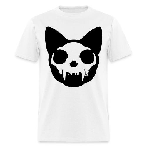 Cat Skull - Men's T-Shirt