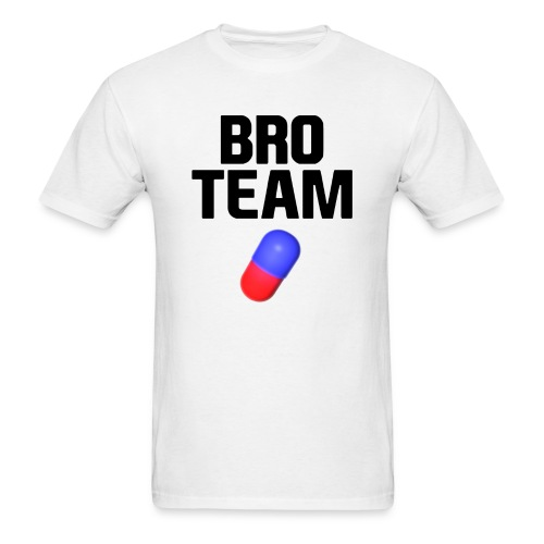 Bro Team Black Words Logo Women's T-Shirts - Men's T-Shirt
