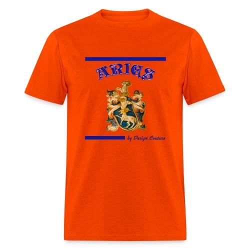 ARIES BLUE - Men's T-Shirt
