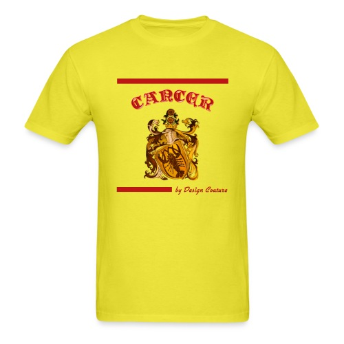 CANCER RED - Men's T-Shirt