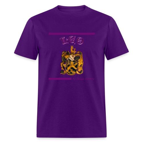 LEO PURPLE - Men's T-Shirt