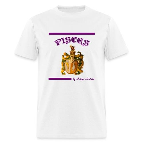 PISCES PURPLE - Men's T-Shirt