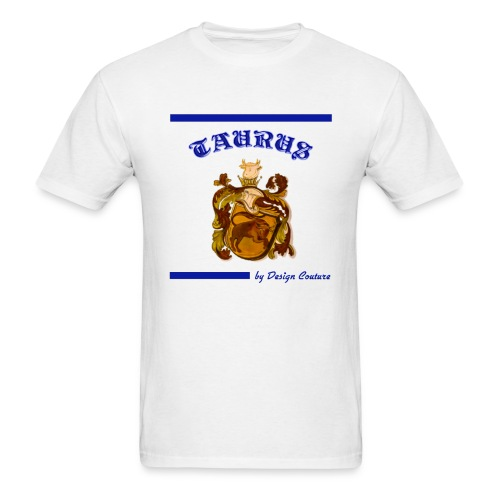 TAURUS BLUE - Men's T-Shirt