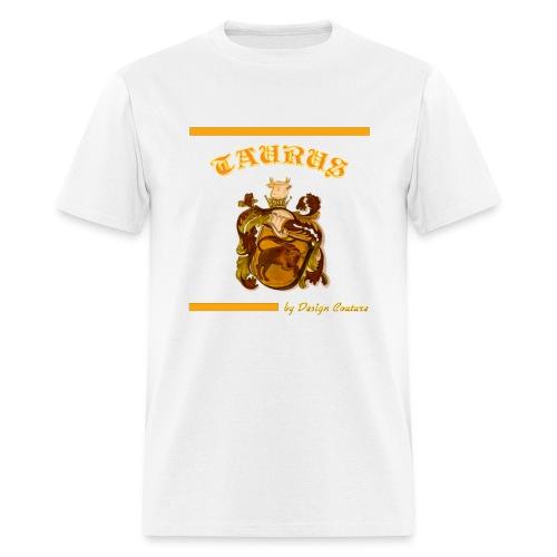 TAURUS ORANGE - Men's T-Shirt