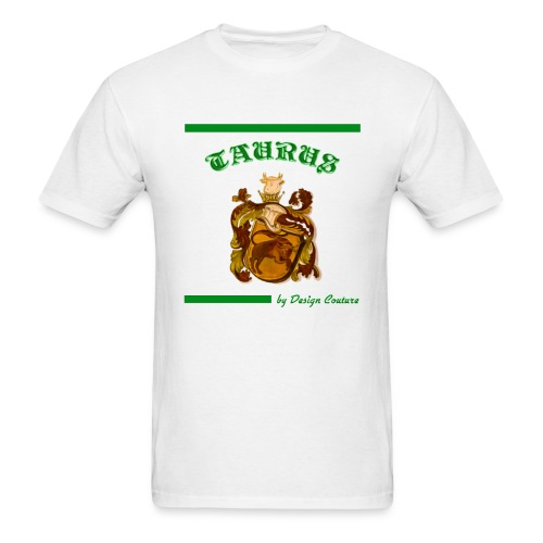 TAURUS GREEN - Men's T-Shirt