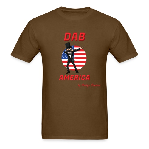 DAB AMERICA RED - Men's T-Shirt