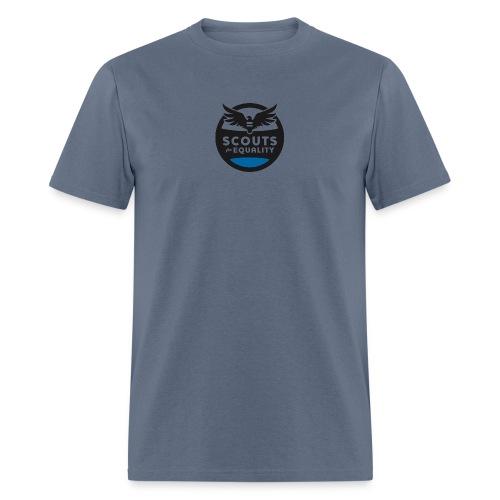 scoutsforequality bluelogo - Men's T-Shirt