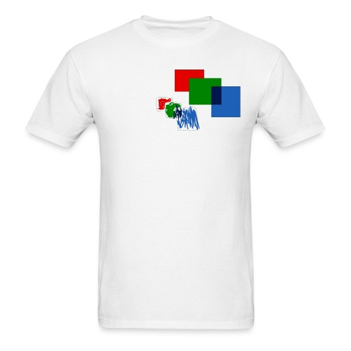 squares - Men's T-Shirt