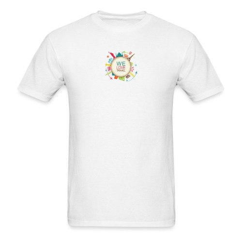 logo welovetravel - Men's T-Shirt