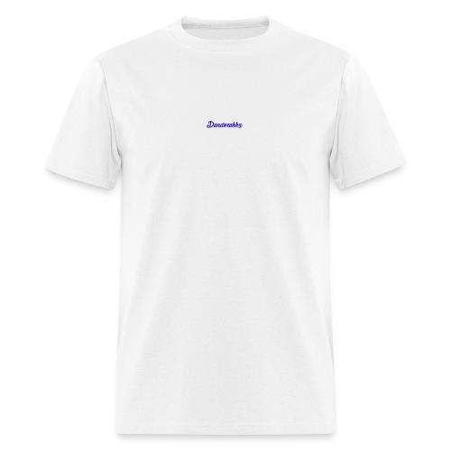 Logo Blue - Men's T-Shirt