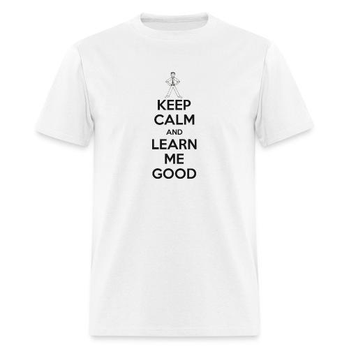 LMG Keep Calm - Men's T-Shirt