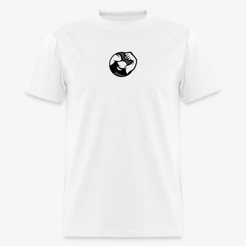 Black and Grey Performance - Men's T-Shirt