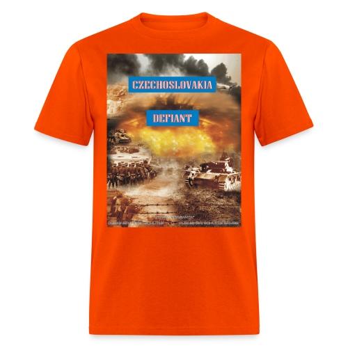 czech defiant - Men's T-Shirt
