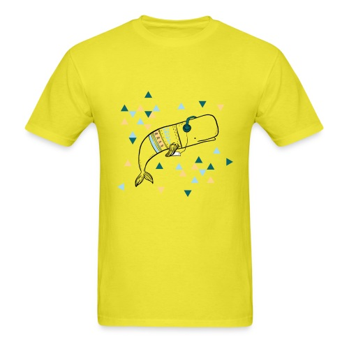 Music Whale - Men's T-Shirt