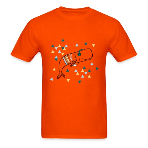 Music Whale - Men's T-Shirt