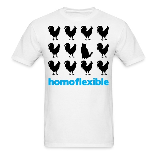 Homoflexible Male - Men's T-Shirt