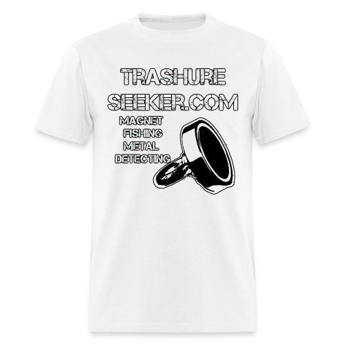 trashureseeker logo - Men's T-Shirt