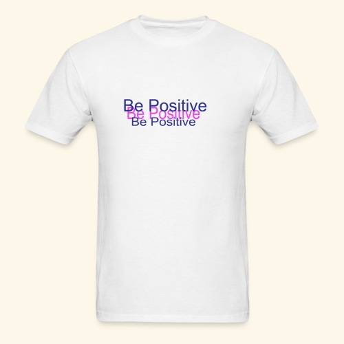 BePositive2color - Men's T-Shirt